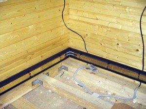 теплий плінтус підлоги