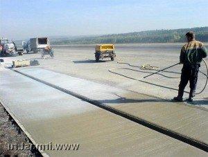 як доглядати залитий бетон