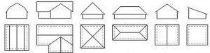 як вибрати форму даху