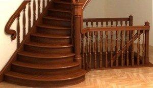 монтаж сходів фото