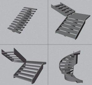 які типи сходів бувають