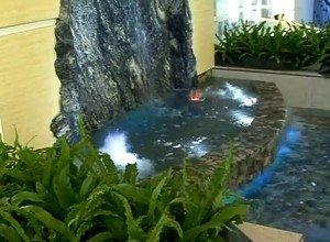 водоспад в інтер'єрі квартири