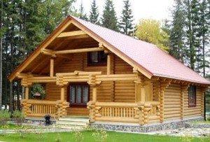 переваги дерев'яних будинків