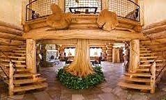 дизайн інтер'єру дерев'яного будинку
