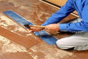 як позбутися скрипу ламінованої підлоги