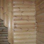 як оздобити фасад будинку дерев'яним блок-хаусом