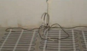 як змонтувати електричну теплу підлогу