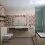 як укладати мозаїку у ванній кімнаті