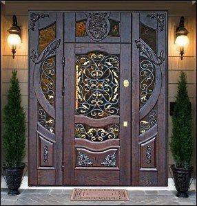 двері з дуба фото
