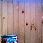 лакувати чи фарбувати деревяну вагонку