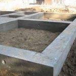 як зробити фундамент під будинок