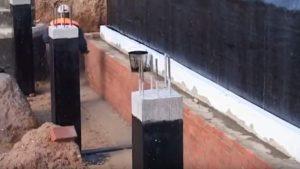 як правильно зробити захист фундаменту будинку від вологи