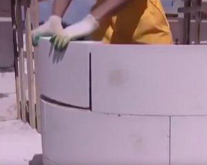 кладка стіни з газоблоків