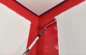 як пофарбувати стіни снєжкою