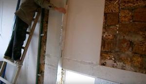 як кріпити гіпсокартон до стіни